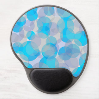 Tapis De Souris Gel Mousepad bleu lumineux de gel de conception de