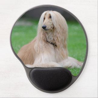 Tapis De Souris Gel Mousepad de gel de photo de chien de lévrier