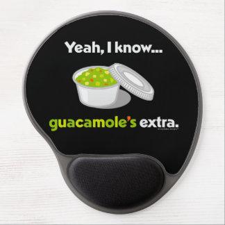 Tapis De Souris Gel Ouais je sais que le guacamole est supplémentaire