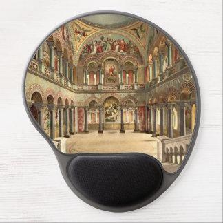 Tapis De Souris Gel Pièce de trône, château de Neuschwanstein,