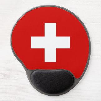 Tapis De Souris Gel Qualité de drapeau de la Suisse