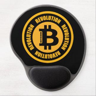 Tapis De Souris Gel Révolution de Bitcoin (version anglaise)