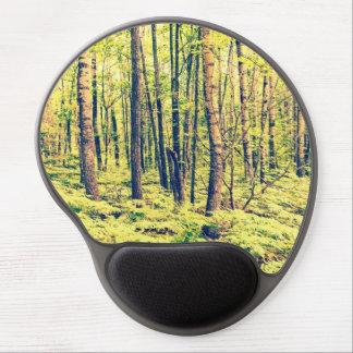 Tapis De Souris Gel Style du nord de cru de régions boisées