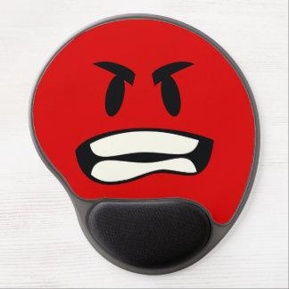 Tapis De Souris Gel Vous bro fou ? L'emoji de rage