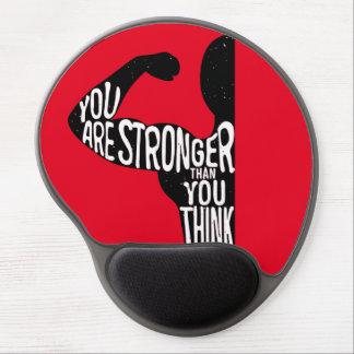 Tapis De Souris Gel Vous êtes plus forts que vous pensez