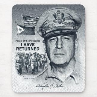 Tapis De Souris Gen. MacArthur I sont retournés (la copie