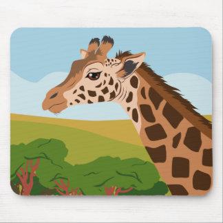 Tapis De Souris Girafe