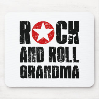 Tapis De Souris Grand-maman de rock