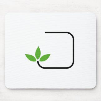 Tapis De Souris Graphique amical d'Eco