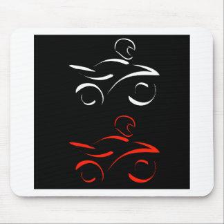 Tapis De Souris Graphique artistique de motocyclette