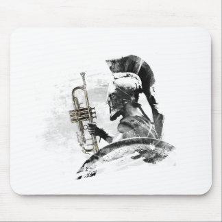 Tapis De Souris Guerrier de trompette