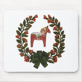 Tapis De Souris Guirlande de cheval de Dala