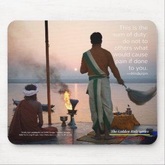 Tapis De Souris Hindouisme : Série de règle d'or