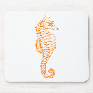 Tapis De Souris Hippocampe orange