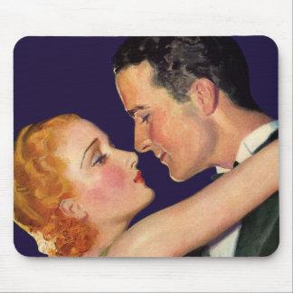 Tapis De Souris Histoires d'amour vintages, rétros films de