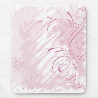 Tapis De Souris hiver grunge rose