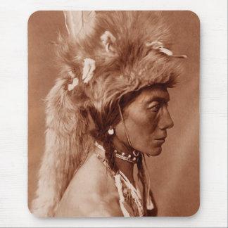 Tapis De Souris Homme Blackfoot de Natif américain de Piegan