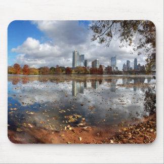 Tapis De Souris Horizon du centre d'Austin le Texas de lac