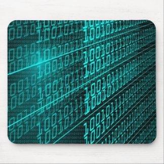 Tapis De Souris IL programmeur de programmation de code binaire