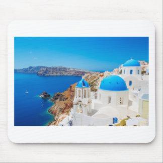 Tapis De Souris Île de Santorini - caldeira, Grèce