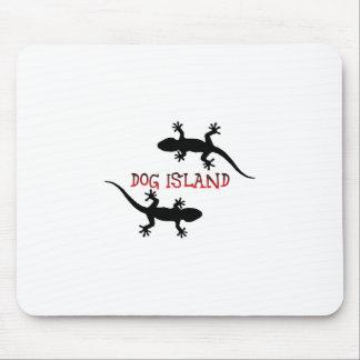 Tapis De Souris Île la Floride de chien