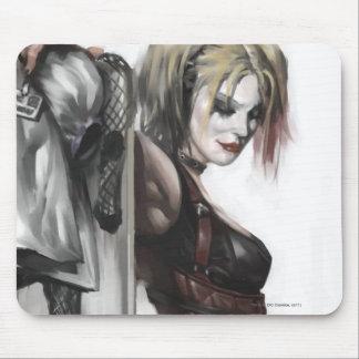 Tapis De Souris Illustration de la ville | Harley Quinn de Batman