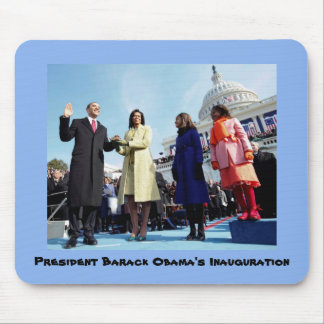 Tapis De Souris Inauguration du Président Barack Obama