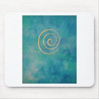 "Tapis De Souris «Infinity - Bright Blue """