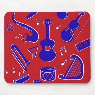 Tapis De Souris Instruments de musique