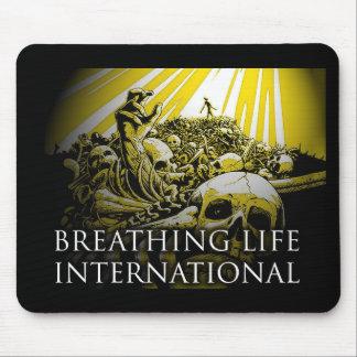 Tapis De Souris International de respiration de la vie