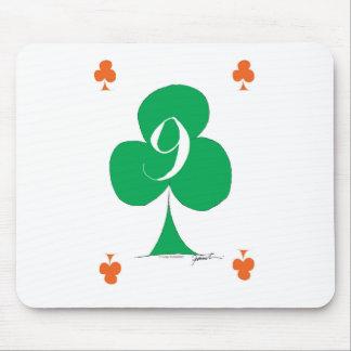 Tapis De Souris Irlandais chanceux 9 des clubs, fernandes élégants