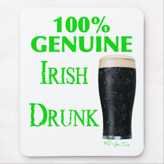 Tapis De Souris Irlandais véritable bu
