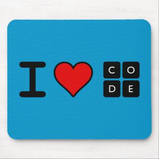 Tapis De Souris J'aime le code