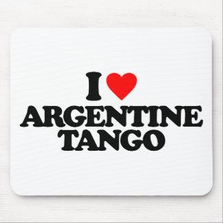 TAPIS DE SOURIS J'AIME LE TANGO ARGENTIN