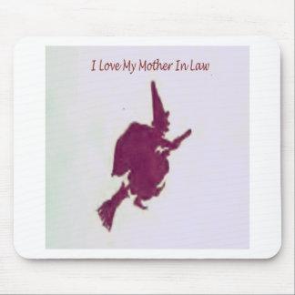 Tapis De Souris J'aime ma mère dans law1
