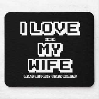 Tapis De Souris J'aime mon épouse