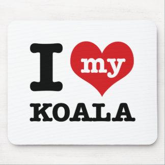 Tapis De Souris J'aime mon koala