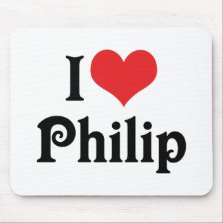 Tapis De Souris J'aime Philip