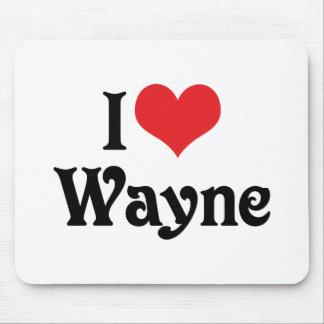 Tapis De Souris J'aime Wayne