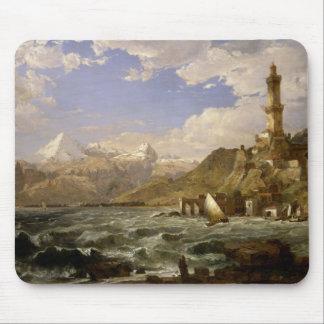 Tapis De Souris Jaspe Francis Cropsey - la côte de Gênes