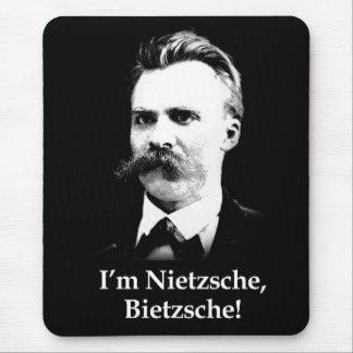 Tapis De Souris Je suis Nietzsche, Bietzsche !