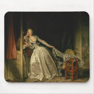 Tapis De Souris Jean-Honore Fragonard - le baiser volé -