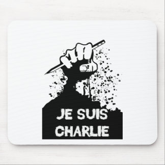 Tapis De Souris Jesuis Charlie (édition de zombi)
