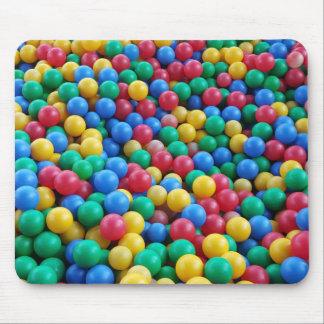 Tapis De Souris Jeu coloré d'enfants de boules de mine de boule