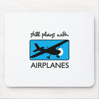 Tapis De Souris Jeux toujours avec l'avion
