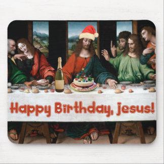 Tapis De Souris Joyeux anniversaire, Jésus !