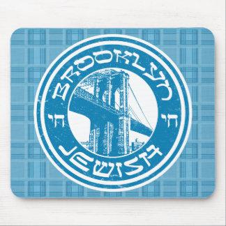 Tapis de souris juif de Brooklyn New York