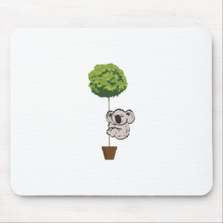 Tapis De Souris Koala mignon sur l'arbre