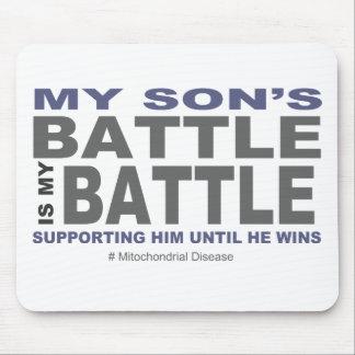 Tapis De Souris La bataille de mon fils
