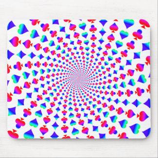 Tapis De Souris La carte colorée adapte au vortex